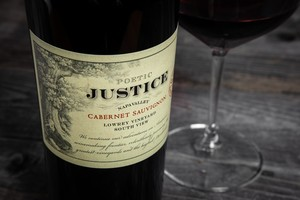 "Justice – 2018 ""Poetic Justice"" Cabernet Sauvignon ""Lowrey Vineyard – Southview"""
