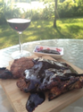 Tony's Clarion Red Blend Grilled Pork Chops